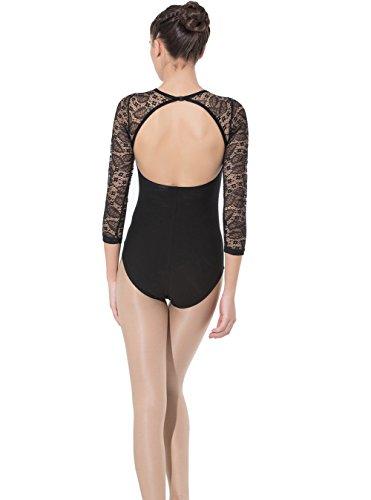 Limiles-Womens-Open-Back-V-Neck-Ballet-Dance-Leotards