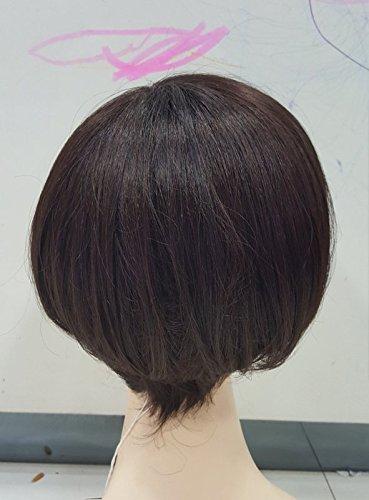 Oblique bangs wig 3493 Type 35-color