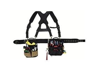 3. CLC Custom Leathercraft 1608 Electrician's Comfort Lift Combo Rig Tool Belt