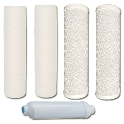 watts 5pk4sv premier 1year 4stage reverse osmosis replacement filter kit 5pack