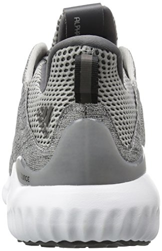 adidas Männer Alphabounce Em M Laufschuh Grau / Grau / Weiß