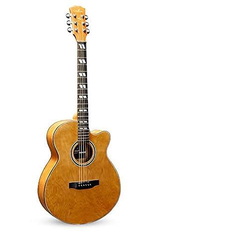 Una guitarra de madera / instrumento de cuerda,B: Amazon.es: Instrumentos musicales