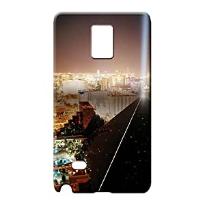 samsung note 4 Popular Cases series cell phone carrying skins las vegas lights pyramid