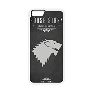 iPhone 6 4.7 Inch Cell Phone Case White Game Of Thrones House Stark Vavov