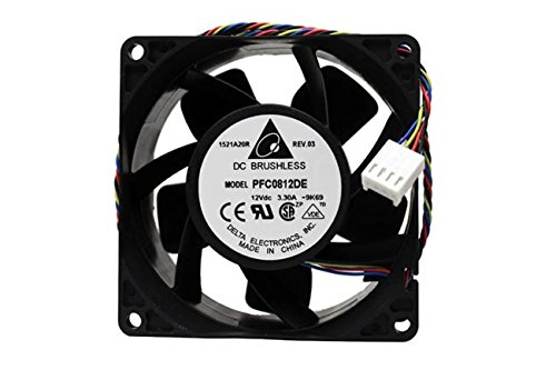 Delta PFC0812DE-PWM 80x38mm-4pin PWM Hi-Speed 9000RPM 132.5cfm Case Fan