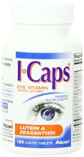 ICaps Lutein & Zeaxanthin Formula, Coated Tablets, 240 coated tablets