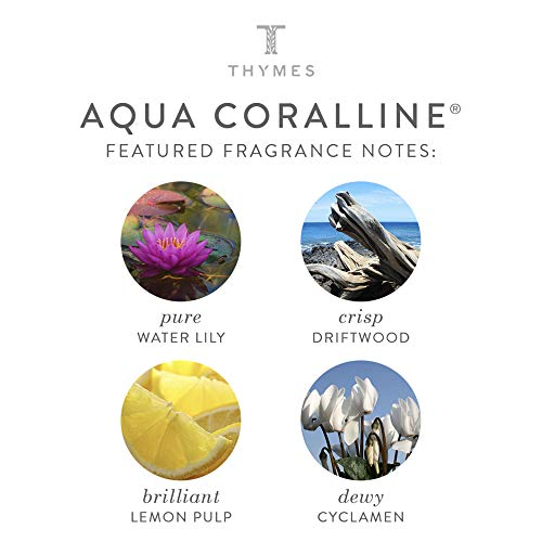 Thymes - Aqua Coralline Home Fragrance Mist - Relaxing Beach Scented Room Spray - 3 oz by Thymes (Image #2)