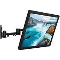 Mount-It! LCD TV Wall Mount Bracket with Full Motion Swing Out Tilt and Swivel Articulating Arm for 13-42 Flat Screen Displays with VESA 75 to 200, 44lb Weight Capacity WITH 18 EXTENSION
