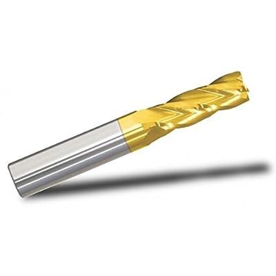 """17/64"""" end mill, 4-flute, SE, Regular, Square end"""