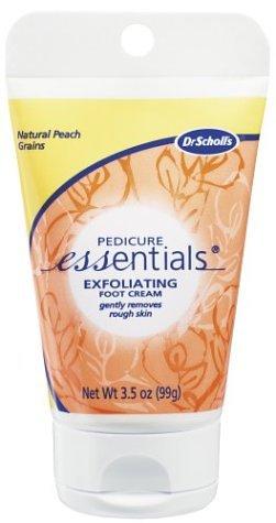 scholl exfoliating foot cream