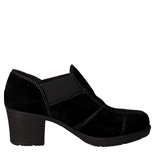 Cinzia Mocassino Donna 004 Nero Soft Ie1854 1rwgq1U