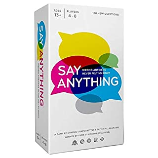 North Star Games Say Anything Board Game |10th Anniversary Edition | Card Game with Fun Get to Know Questions