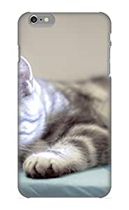 Quality VenusLove Case Cover With Animal Cat Nice Appearance Compatible With Iphone 6 Plus()