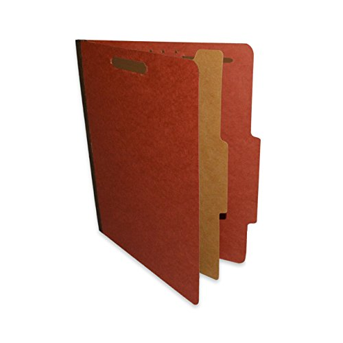 - ALL-STATE LEGAL Pressboard Classification File Folder, 1 Divider, 1 1/2