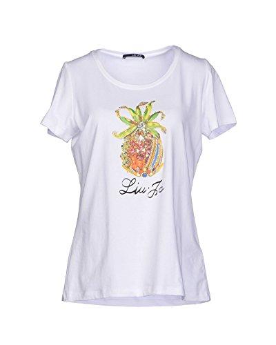 liu jo Damen T-Shirt weiß Bianco