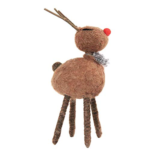 Brave669 Clearance Deals Christmas Reindeer Shape Home Table Decoration Cute Photography Props Xmas Gift Coffee L]()