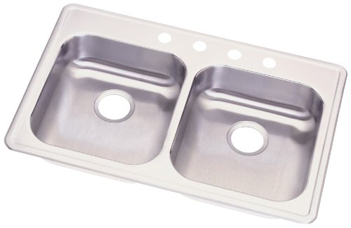 Elkay GE233214 Dayton 33-Inch by 21-1/4-Inch Stainless Steel