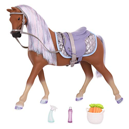 Glitter Girls by Battat - Celestial 14-inch Morgan Horse - 14 inch Doll Accessories and Clothes for Girls Age 3 and Up - Children's ()