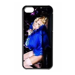 XiFu*MeiC-EUR Print Lady Gaga Pattern Hard Case for iPhone 5CXiFu*Mei