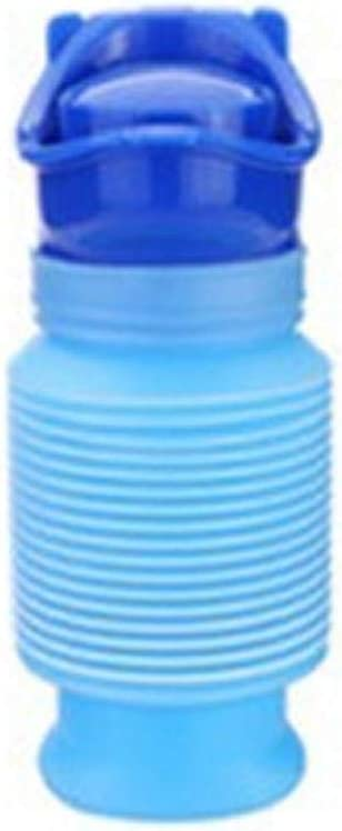 para inodoro Urinario de emergencia port/átil peque/ño port/átil reutilizable orinal se puede encoger para acampar al aire libre orinal de emergencia para ni/ños y adultos talla viajes