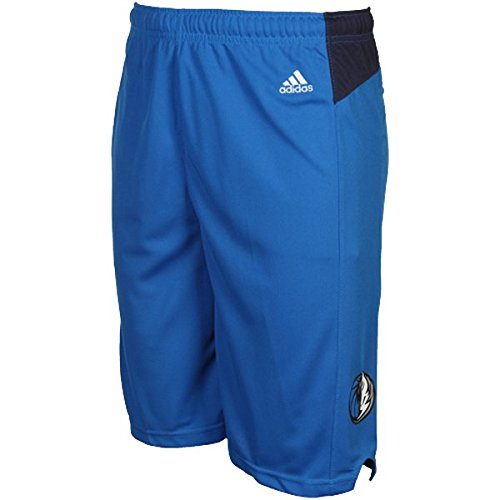 NBA Dallas Mavericks Youth Boys 8-20 Replica Road Shorts, Large (14/16), Blue