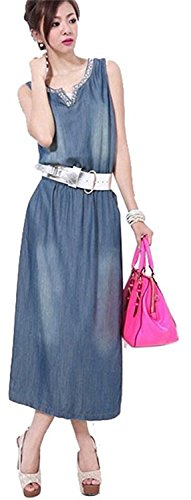 Buy maxi dress and denim jacket pinterest - 2
