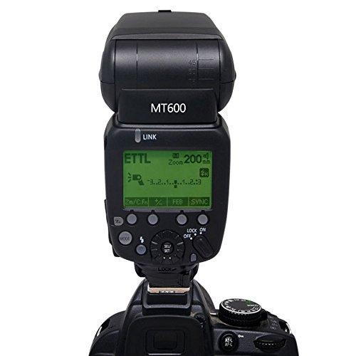 Mcoplus MT600C 1/8000s Professional Flash Speedlite for Canon DSLR Camera(GN60) 1100D 1200D 550D 500D/T1i 350D 600D 650D 700D 60D 70D 80D 7D 7DII 6D 5DII 5DIII 5D 1000D