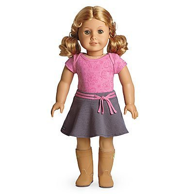 American Girl - My American Girl Doll with Light skin, honey-blond hair, hazel eyes - E21 (Star Doll American Girl Code)