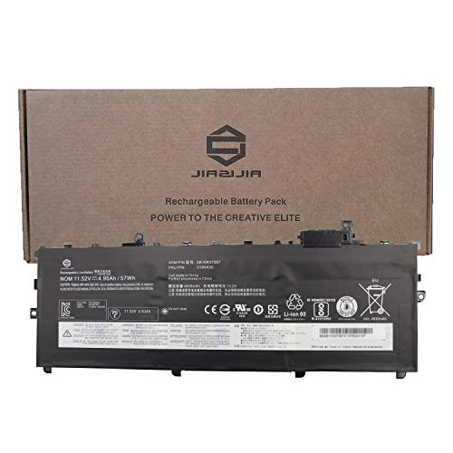 JIAZIJIA 01AV430 Laptop Battery Replacement for Lenovo ThinkPad X1 Carbon 5th Gen 2017 6th Gen 2018 Series SB10K97587 01AV431 SB10K97588 01AV494 SB10K97586 01AV429 SB10K97586 11.52V 57Wh 4950mAh