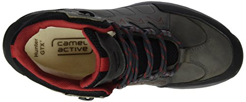 camel active Herren Hunter GTX 13 Kurzschaft Stiefel Grau (Grey/Black 13)