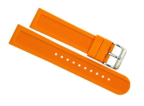 Victorinox Swiss Army Dive Master 500 Orange Genuine Rubber Strap Diver Watch Band 22mm