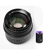 $98 » TTartisan 50mm F1.2 APS-C Format Large Aperture Manual Focus Fixed Lens Compatible with Sony E-Mount