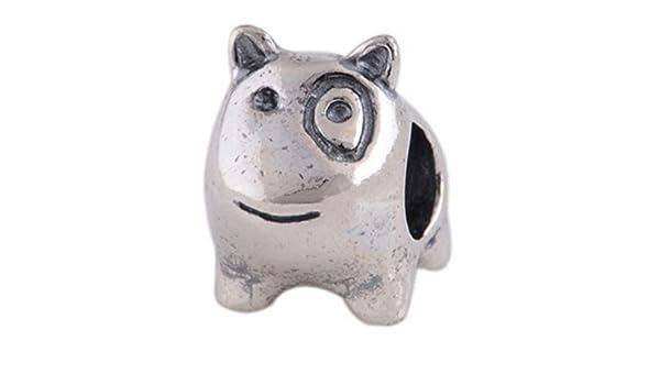 Perro Bulli - Mujer Bead - para pandora joyas - Plata de ley ...