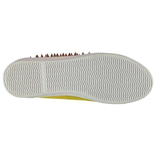 Jeffrey Campbell Play Zomg Plattform Shoes Damen Gelb/Silber Trainer Sneakers