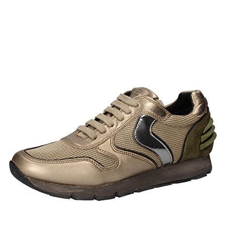 Voile Blanche , Damen Sneaker gold gold