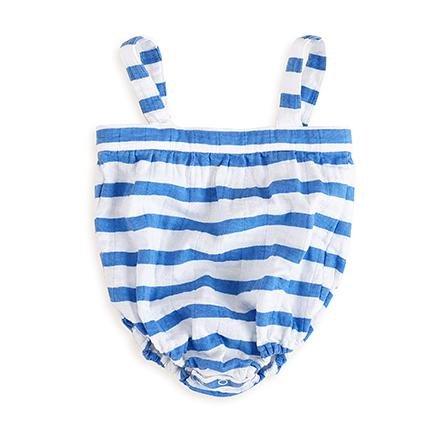 Aden + anais 2914 – Pelele, diseño de rayas, tipo marinero, 6 – 9 meses: Amazon.es: Bebé