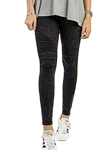 Womens Moto Jeans - 6