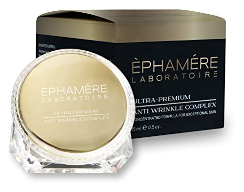 Ephamere Ultra-Premium Anti Wrinkle Complex, Maximum Strength Concentrated Formula, Smooth Wrinkles, Improve Skin Tone, with Age-Defying Moisturizers and Antioxidants