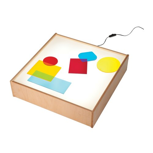 - Whitney Brothers Home School Kids Play Room Birch Laminate Tabletop Light Box