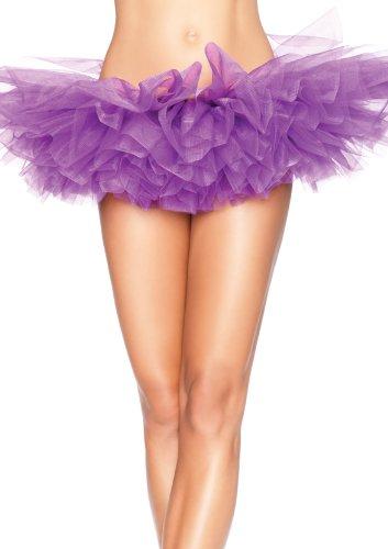 Leg Avenue Women's Organza Tutu, Purple, One Size ()