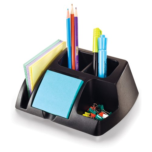 Officemate OIC Achieva Desk Organizer, Recycled, Black (26219)