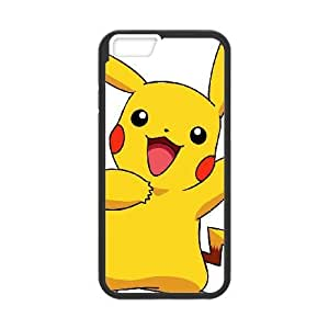 iPhone 6 Plus 5.5 Inch Phone Case Pikachu Personalized Cover Cell Phone Cases GHW498259