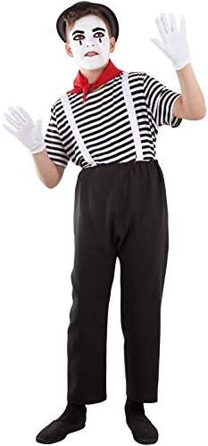 DISBACANAL Disfraz de mimo Infantil - -, 10 años: Amazon.es ...