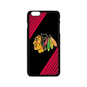 Chicago Blackhawks Solid Background Iphone 6 4.7 Shell Case Cover (Laser Technology)