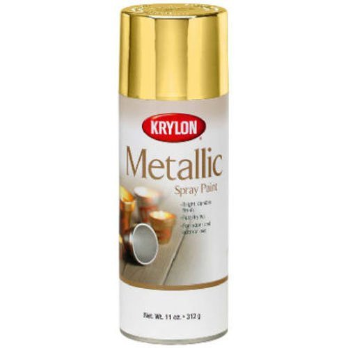 Kyrlon K01706007 General Purpose Metallic, Gold, 12 ounce (Spray Furniture Colors Paint)