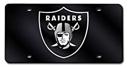 NFL Oakland Raiders Laser Cut Auto Tag