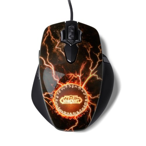 Portable, SteelSeries World of Warcraft Legendary MMO Gaming Mouse Consumer Electronic Gadget Shop