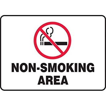 10 x 14 Inches AccuformDanger No Smoking Matches Or Open Lights Safety Sign Accu-Shield MSMK136XP