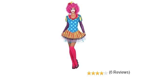 Atosa - Disfraz de payasa para mujer, talla M/L (22968): Amazon.es ...