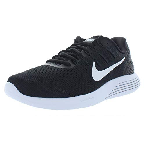 Nike Mens Lunarglide 8 Running Shoes Black/White/Anthracite 843725-001 Size 11 843725